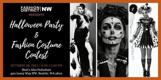 Halloween Party & Fashion Costume Contest