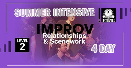 Improv Relationships & Scenework Summer Course \u2013 Level 2