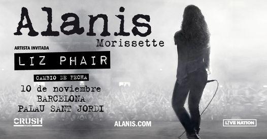 Alanis Morissette en Barcelona - Evento oficial