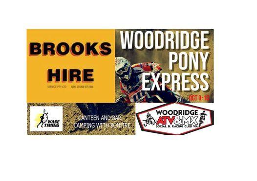 Brooks Hire Woodridge Pony Express