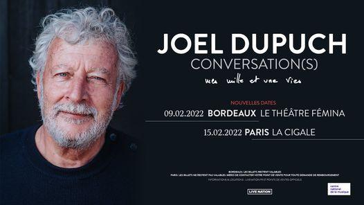 Jo\u00ebl Dupuch | Conversation(s), Paris