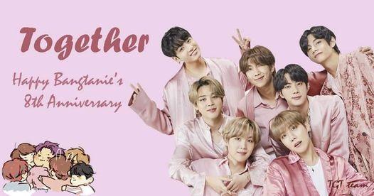 [HN]TOGETHER - Happy Bangtanie\u2019s 8th anniversary