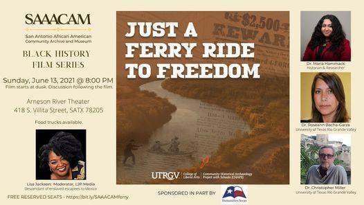 "Black History Film Series: \u201cJust a Ferry Ride to Freedom"""