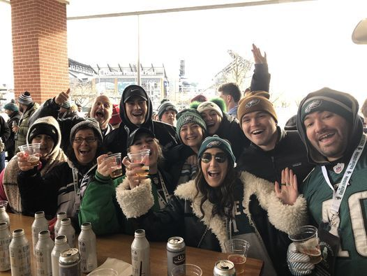 Green Legion Tailgate Party @ Xfinity Live! - Eagles vs Chargers