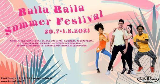 Baila Baila Summer Festival 2021