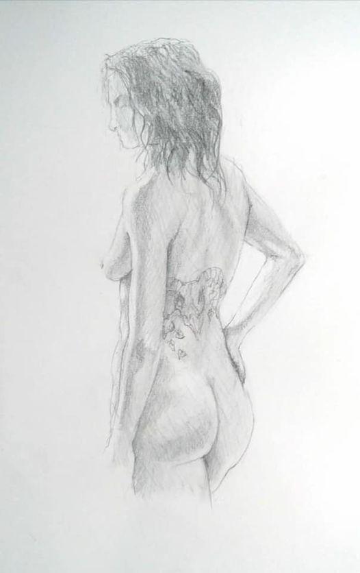 Long Pose Life Drawing at The Jam Jar Bristol
