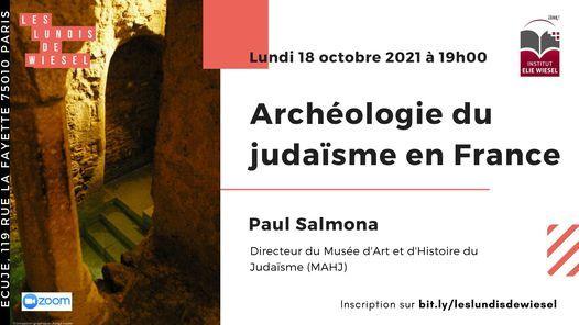 Arch\u00e9ologie du juda\u00efsme en France