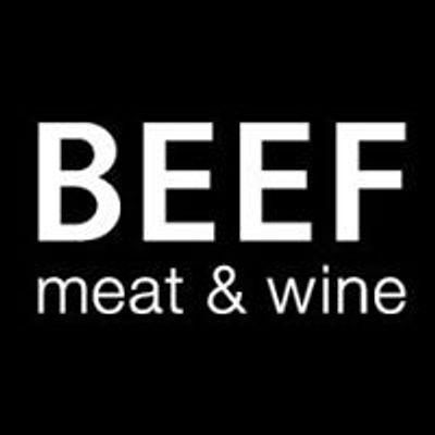 BEEF meat & wine