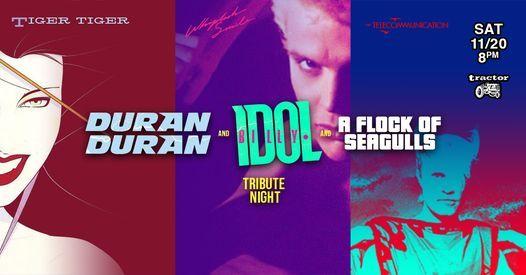 Billy Idol, Duran Duran, A Flock of Seagulls Tribute Night