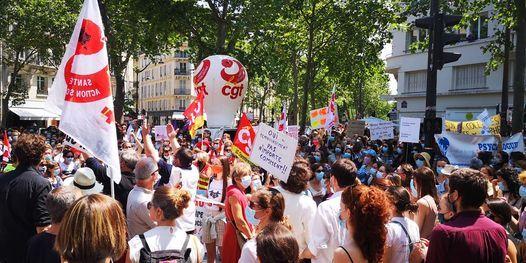 Paris Rassemblement de tous les  Psychologues