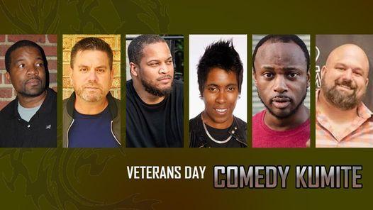 Veterans Day Comedy Kumite