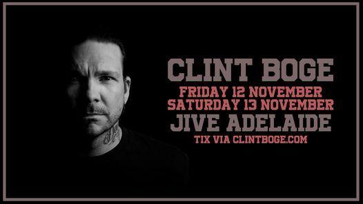 Clint Boge - Jive (Recheduled)