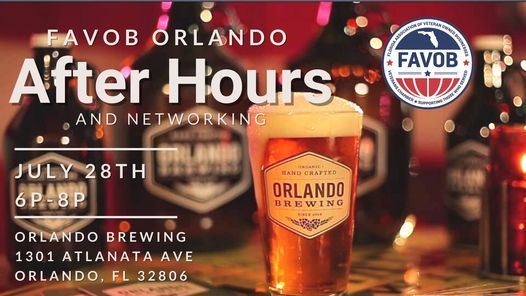 Orlando JULY After Hours
