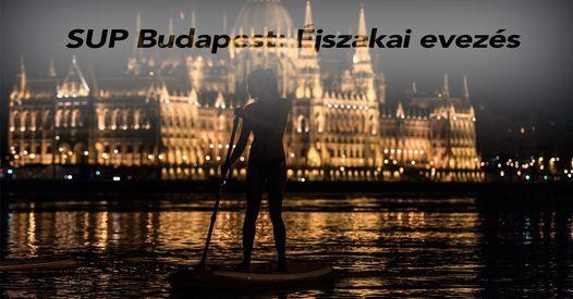 SUP Budapest: \u00c9jszakai evez\u00e9s