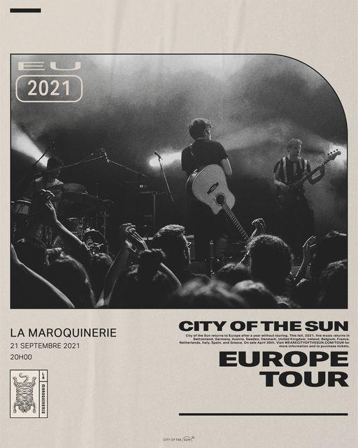 Annul\u00e9 - City Of The Sun \u00e0 La Maroquinerie | 21.09.21