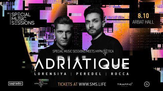 Special Music Sessions meets Hypnotica: Adriatique