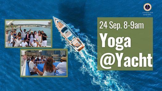 Yoga at Yacht