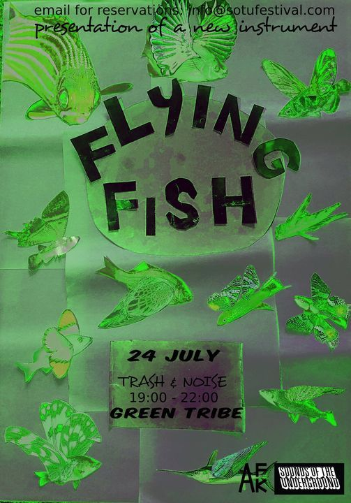 Flying Fish & Friends at Green Tribe