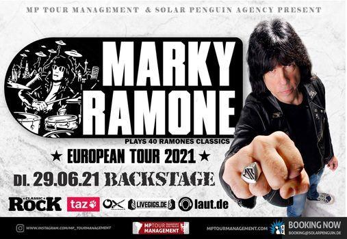 Marky Ramone l Backstage M\u00fcnchen (Nachholshow)
