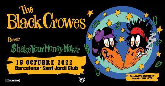 The Black Crowes en Barcelona (Evento oficial)