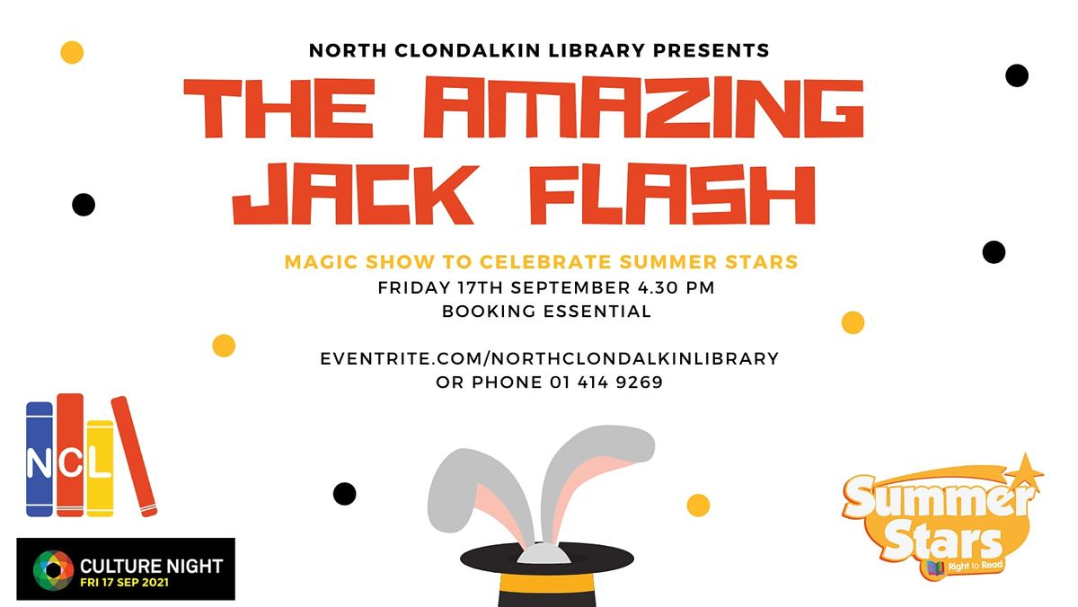 The Amazing Jack Flash - Magic Show