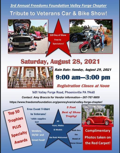 Tribute to Veterans Car and Bike Show