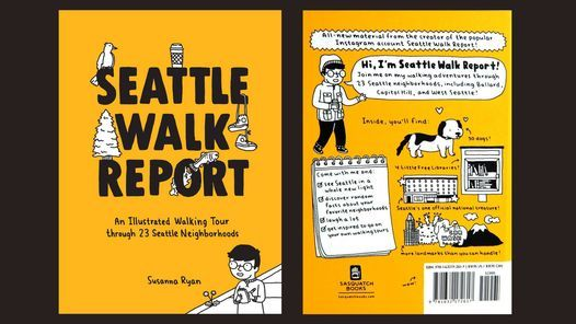 Local Author Talk with Susanna Ryan: Seattle Walk Report