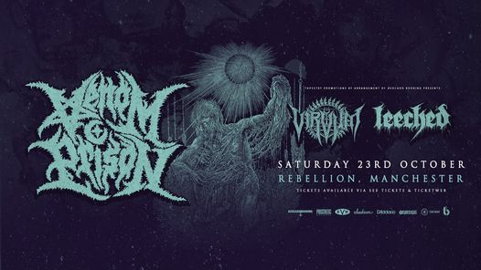 Venom Prison, Creeping Death, Leeched - Manchester.