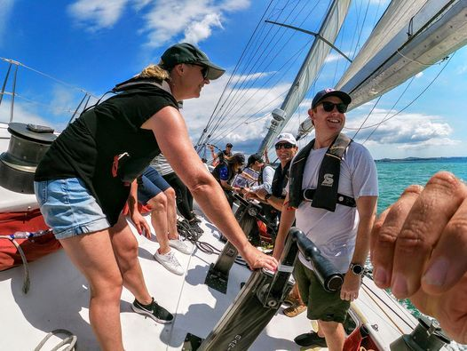 Hauraki Gulf Paradise Overnight Sailing Experience