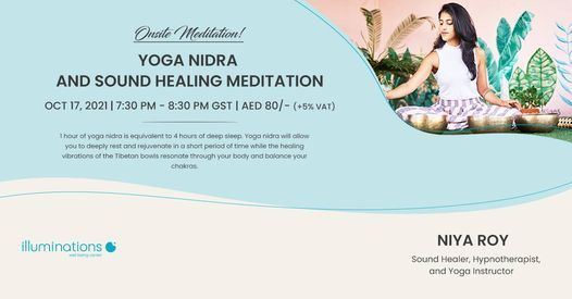 Onsite Meditation: Yoga Nidra And Sound Healing Meditation With Niya Roy