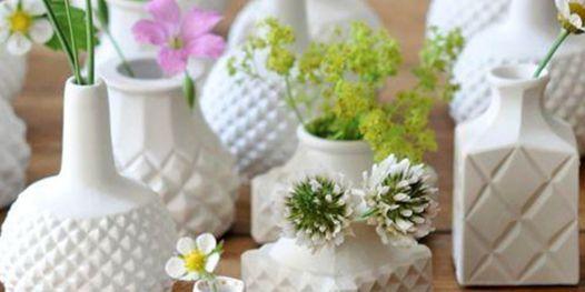 Make Your Own Flower Bud Vase | Pottery Workshop w\/ Siriporn Falcon-Grey