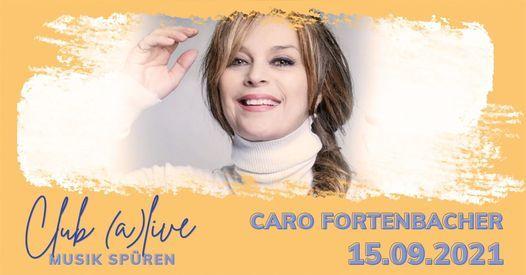 Caro Fortenbacher bei Club (a)live
