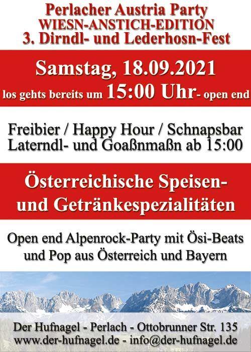 Die Perlacher Austria Party!