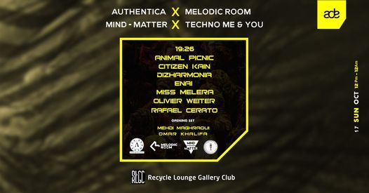 ADE Curated by Authentica, Melodic Room, Mind-Matter, and TM&Y