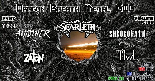 Dragon Breath Metal GIG