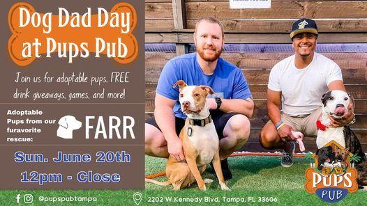 Dog Dad Day at Pups Pub