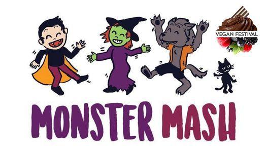 Monster Mash Halloween Kids Disco or Craft