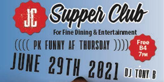 PK Funny AF Thursdays headliner Dennis Clark