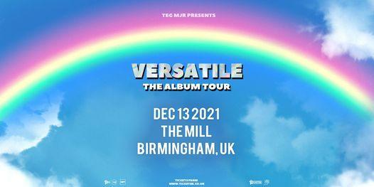 Versatile at The Mill | Birmingham