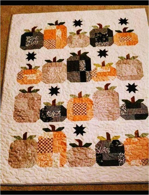 Hocus Pocus Quilt - Beginning Paper Piecing w\/Marilyn VanVooren - 4 Thursdays