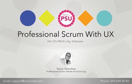 Kho\u00e1 H\u1ecdc Professional Scrum With User Experience