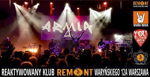 Armia w Warszawie! Klub REMONT