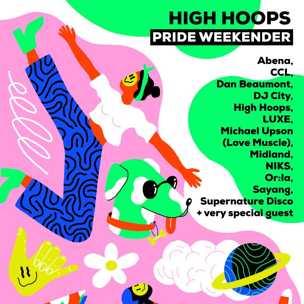 High Hoops Pride 2021