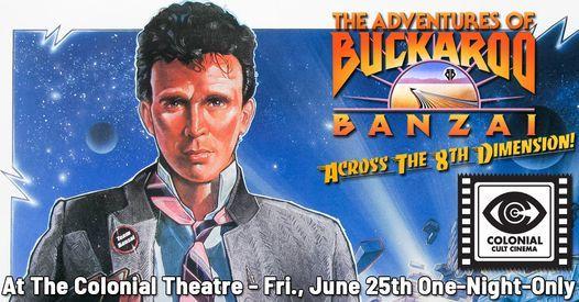 The Adventures of Buckaroo Banzai Across the 8th Dimension - on 35 MM