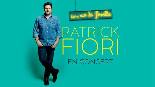 Patrick Fiori \u2022 12 & 13 Octobre 2021 \u2022 \u00e0 l'Olympia de Paris