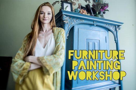 4-hour furniture painting workshop