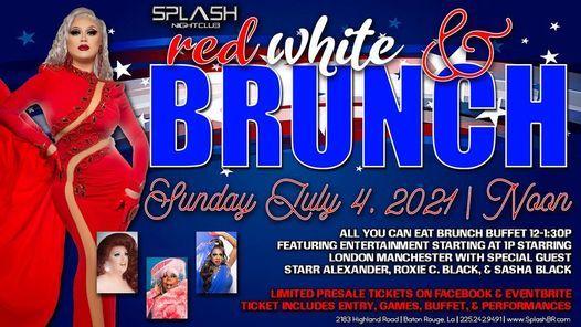 Red, White, & Brunch - 4th of July Drag Brunch