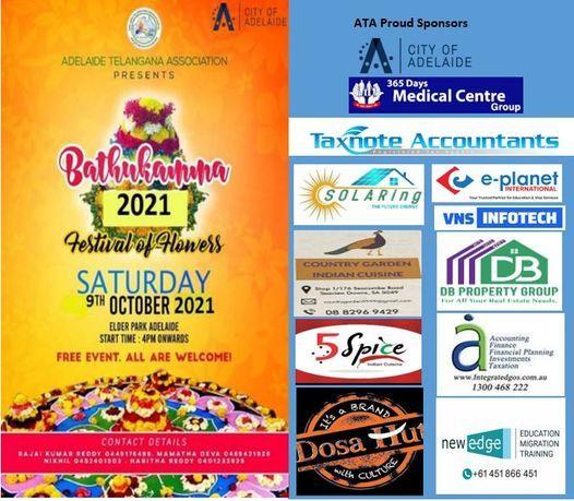ATA Bathukamma Celebrations 2021 (Festival Of Flowers)