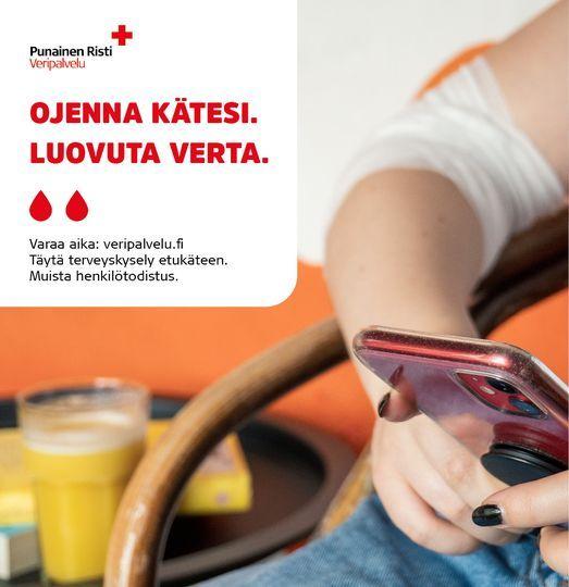 Peduca l\u00e4htee luovuttamaan verta