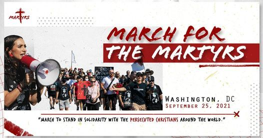 March for the Martyrs 2021